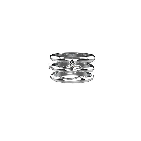 Knuckle Ring Three Set