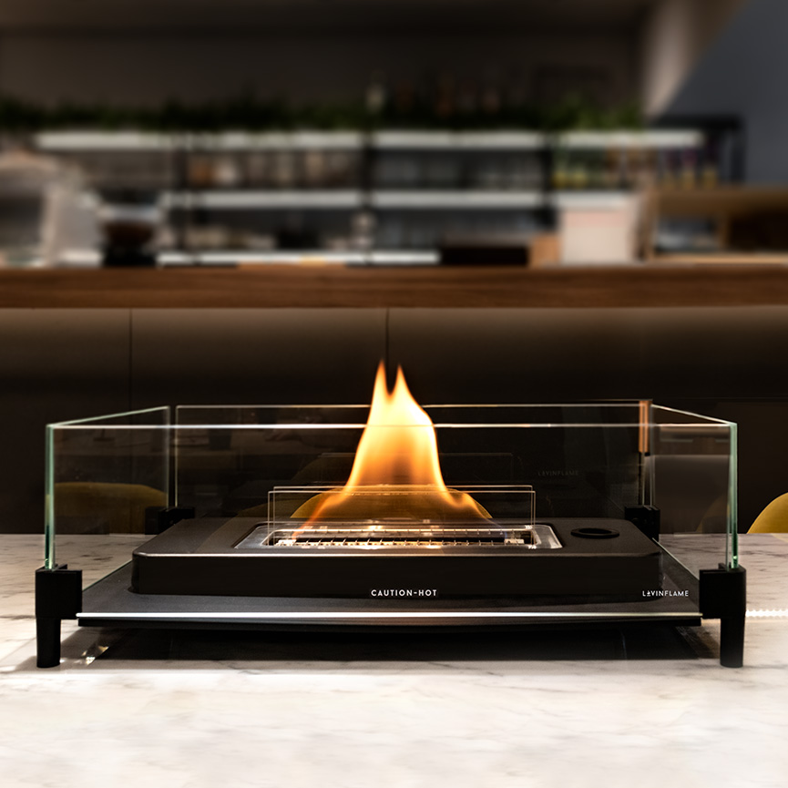 LovinFlame- Table Top w Glass Guard
