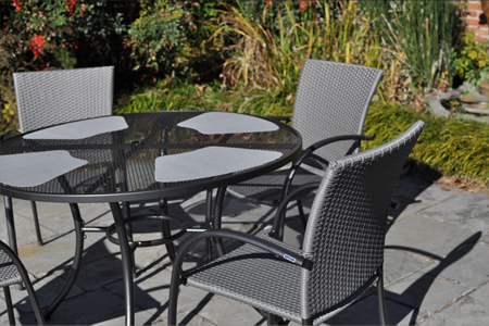 Pilano Wrought Iron Dining Set By Kettler