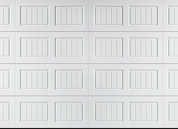 Carriage House 16'x7' Non-Insulated Garage Door