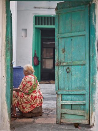 Woman in Doorway-Udaipur-India.jpg
