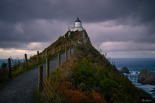 Lighthouse at Nugget Point