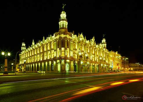 National Theater @ Night