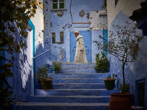 Stairs of Chefchaouen