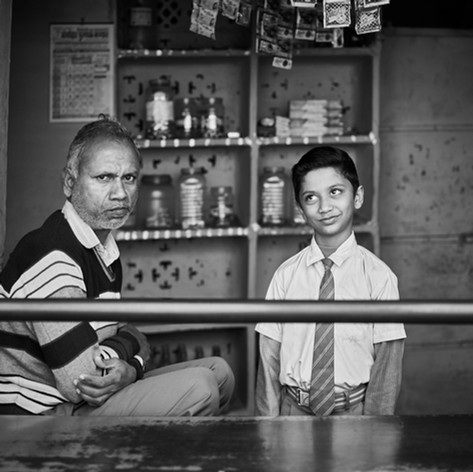 Father and Son, India