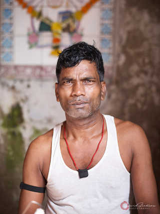 Man With Medallion