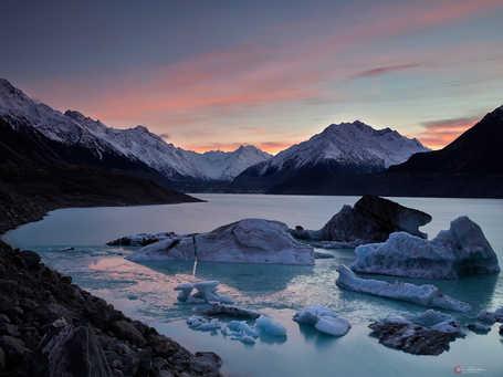 Sunrise Over Tasman