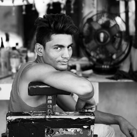 Barber-Mumbai, India