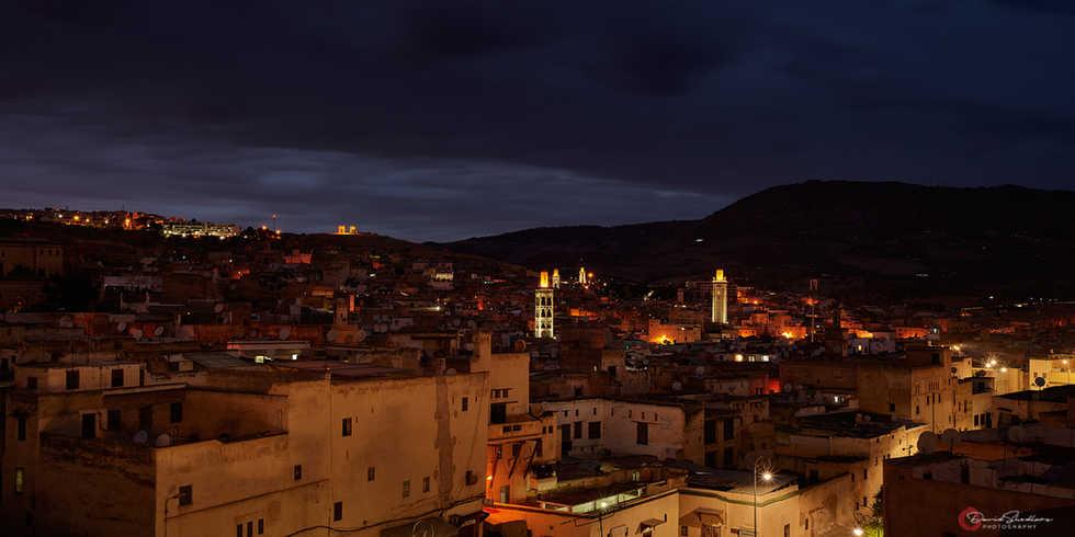 Blue Hour-Fez