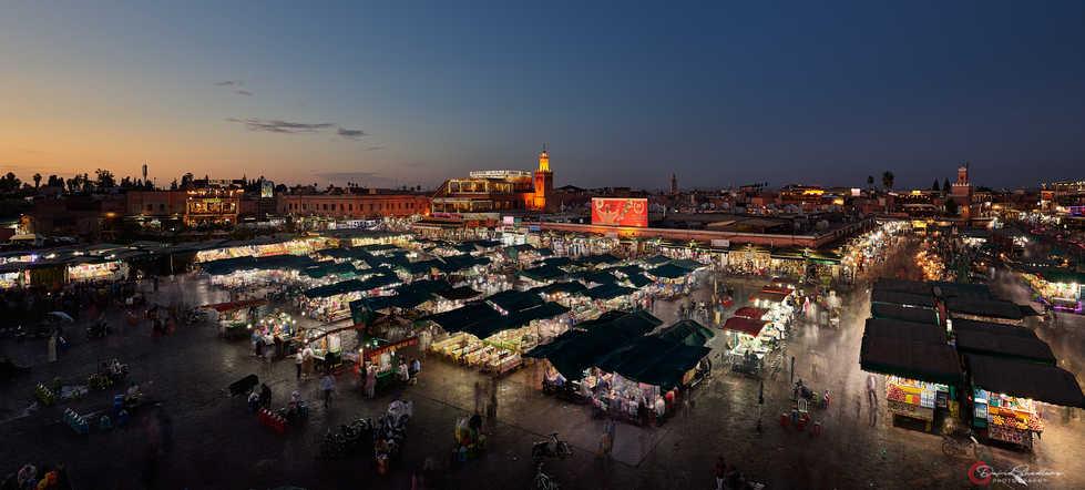 Blue Hour City Market