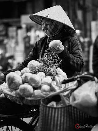 Selling Vegetables