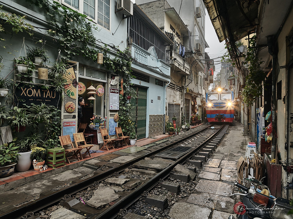 Train is Coming! Hanoi Vietnam 2019