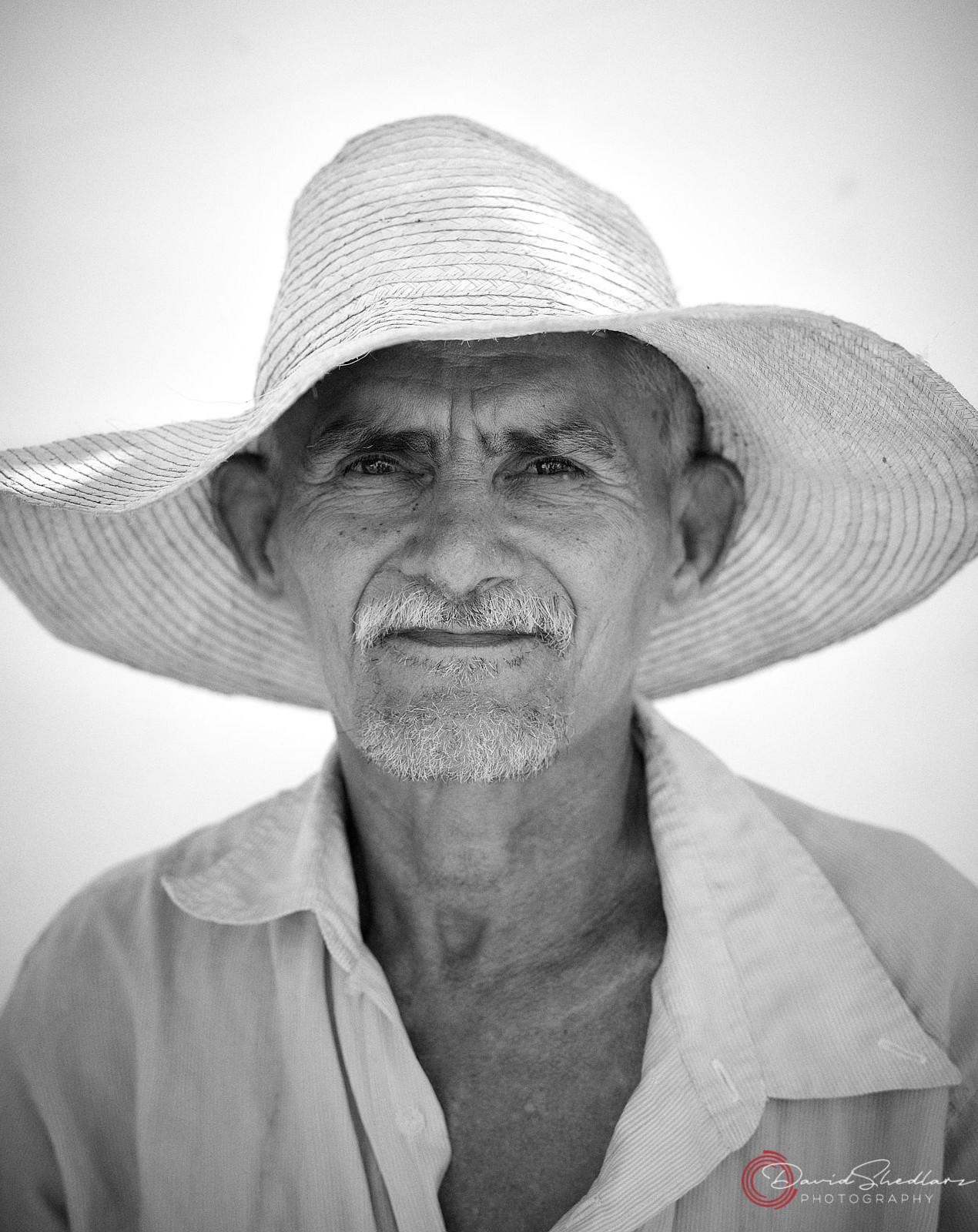 Cuban Gentleman Black & White