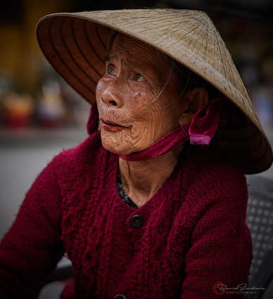 Lady in Red Vietnam/Cambodia 2019