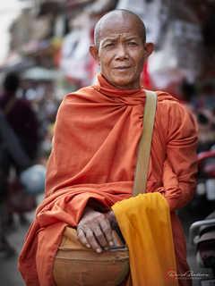 Monk At Market