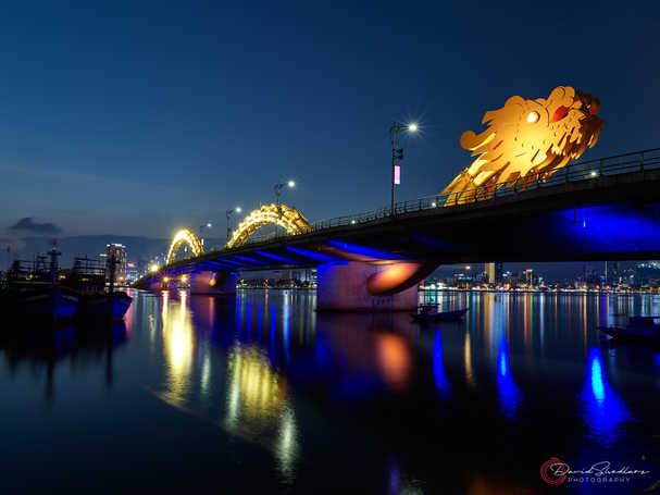 Dragon Bridge in Yellow