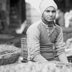Fruit Vendor-Delhi, India