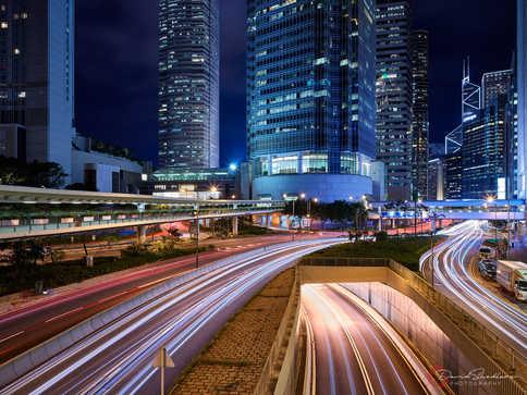 Shanghai Light Trails