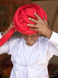 Wrapping Turban