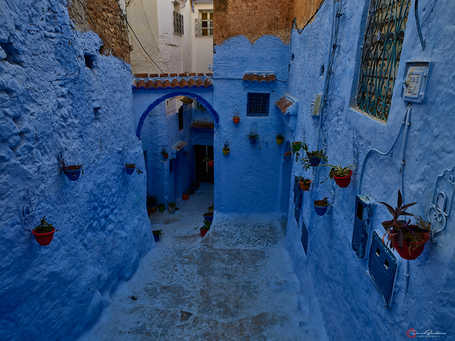 Blue City Depth