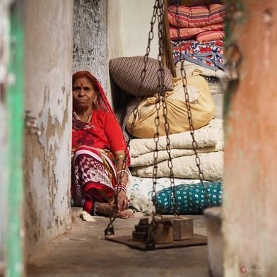 Red Sari Interior Udaipur India.jpg
