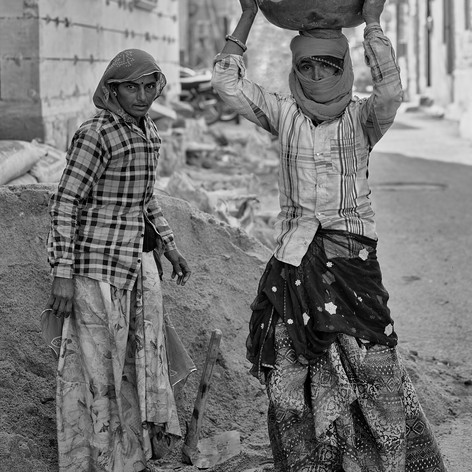 Female Construction Workers-Jodhpur, India