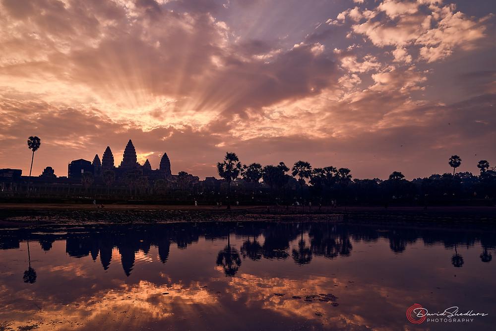 Angkor Wat Sunrise Cambodia 2019