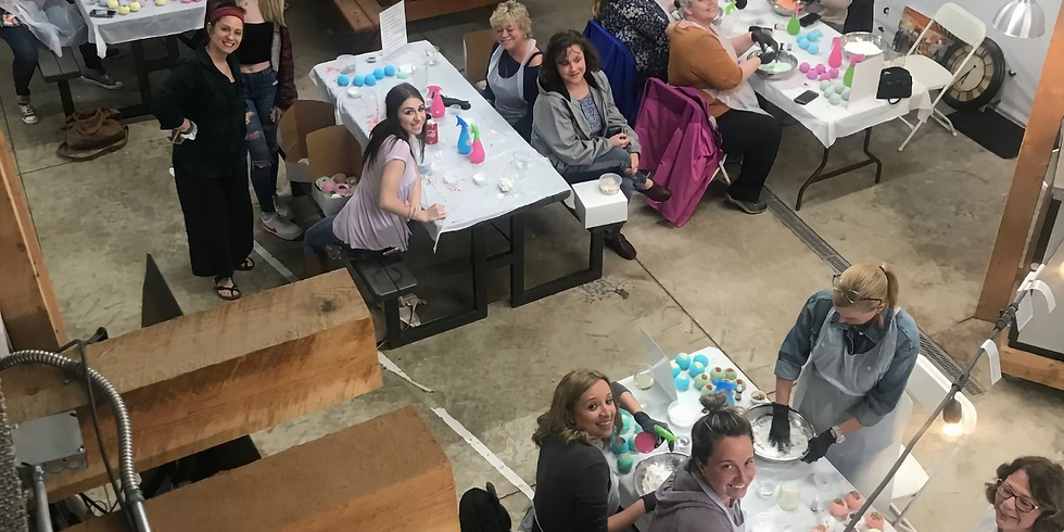 Bath Bomb Workshop at The Boring Winery & Tap Room