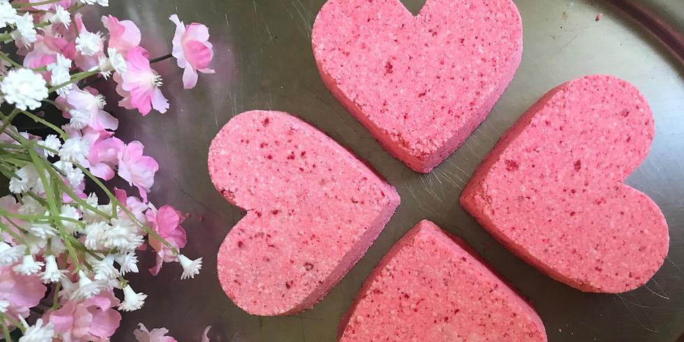 Valentine's Day Bath Bomb Workshop