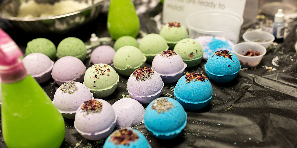 Bath Bomb Workshop at Sparky's Brewing Company