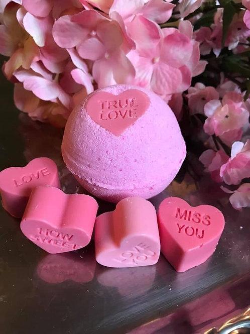 Valentine's Day Bath Bomb