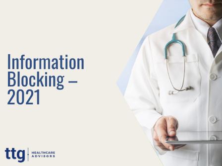 Information Blocking – 2021