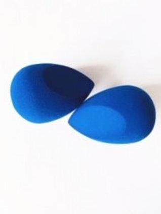 2 Classic Blue Makeup sponges.