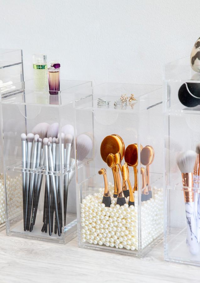 Brushtower models with brushes