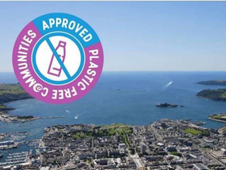 Plymouth's Waterfront area is the first city district in the UK to achieve the Plastic Free accr