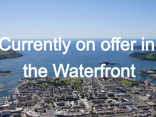 Currently on offer in the Waterfront