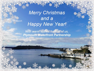 Merry Christmas and a Happy New Year from Plymouth Waterfront Partnership