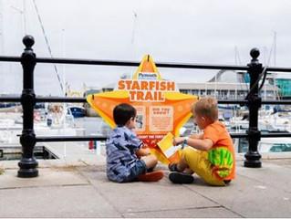 Follow Stella the Starfish for family fun in Sutton Harbour