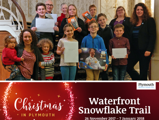 Winners of Waterfront's Snowflake Trail announced