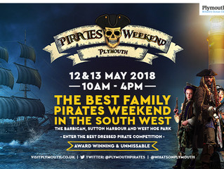 Pirates Weekend Plymouth - Saturday 12 and Sunday 13 May 2018