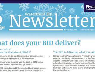 Quarterly BID Newsletter (November 2019) - What does your BID deliver?