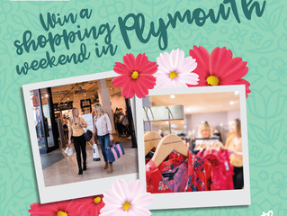Win a Shopping Weekend in Plymouth!  #SpringinPlymouth