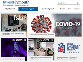 Invest Plymouth - COVID-19 Business Support