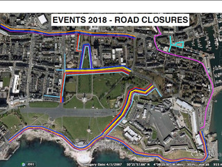 MAJOR EVENTS CALENDAR 2018 AND ROAD CLOSURES ADVANCE NOTICE