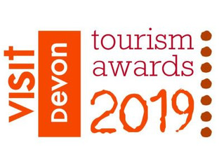 DEVON TOURISM AWARDS NOW OPEN FOR ENTRY CLOSING DATE - 30 APRIL 2019