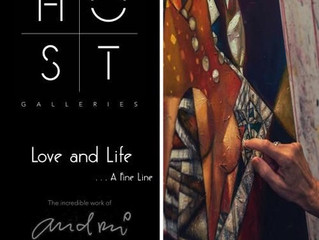'Love And Life ...A Fine Line' by Andrei Protsouk @ HOST - Only a few days left!