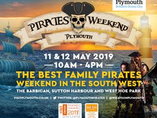 Award Winning Pirates Weekend Plymouth Returns! 11-12 May 2019