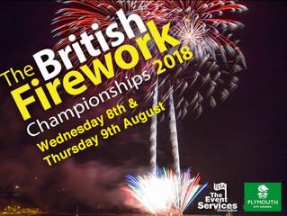 British Firework Championships: 8th & 9th August 2018