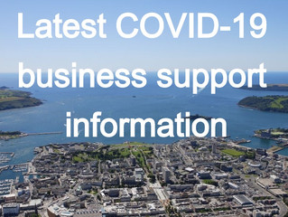 Latest COVID-19  business support information 27.03.2020