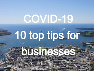 WE'RE HERE TO HELP - 10 top tips for businesses